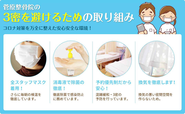 当院のコロナウイルス対策
